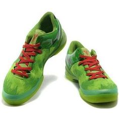 http://www.asneakers4u.com/ Nike Kobe 8 System Basketball Shoe Christmas Green/Black/Red Sale Price: $66.20