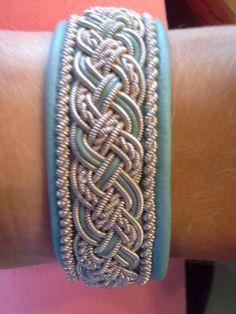 Tennarmband Pewter wire bracelet