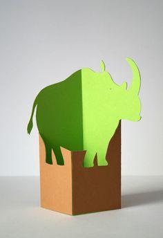 Felicitas Horstschäfer / Graphic Design & Illustration / Paper animals