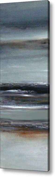 Shades Of Grey Acrylic Print By Christine Deckert