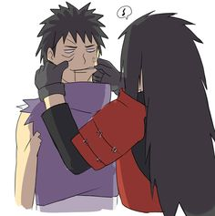 ........ | via Tumblr | We Heart It #madara #obito #uchiha