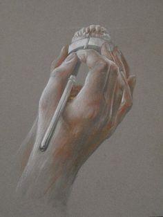 dental technician hands by aurelien maye