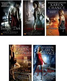 Cassandra Palmer series by Karen Chance - reading order http://paranormalromancereads.com