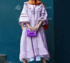 آموزش دوخت مانتو الگوی قطعه ی 1 و - زیباکده Dresses With Sleeves, Shirt Dress, Long Sleeve, Shirts, Fashion, Moda, Shirtdress, Sleeve Dresses, Long Dress Patterns