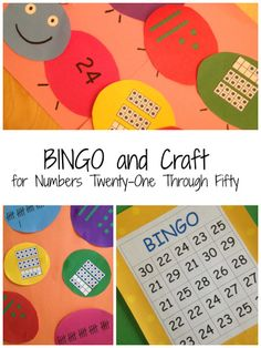 Students can work on number recognition using base ten blocks, tally marks, and ten frames playing BINGO and making caterpillars. The number models can be used in both activities to save ink. $