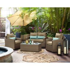 Value City Furniture, Outdoor Seating, Outdoor Spaces, Cozy, Outdoor Rooms