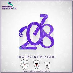 May this New Year brings more Smile, more Happiness and more Prosperity to you. Team Shreyas Dental wishes you a Happy New Year in advance. www.shreyasdental.in  #Happynewyear #ShreyasDentalHospital