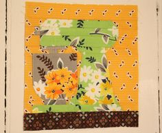 Paper Pieced Mixer Pattern and Tutorial    Paper Pieced Kitchen Mixer   by Erin @ Why Not Sew? Quilts © 2011 Welcome to the tutorial and pa...