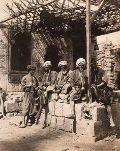 Egyptian farmers in 1870