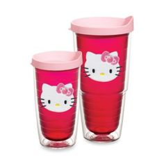 Tervis® Hello Kitty® Wrap Tumblers with Pink Lid - BedBathandBeyond.com 16oz