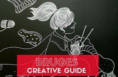 Bruges: a creative travel guide. Are you packing your bags to visit Bruges, Belgium? Looking for some must-visit places? Check out my travel guide   Happy in Red