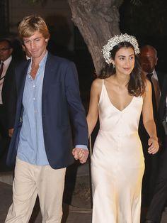 Alessandra de Osma en su boda