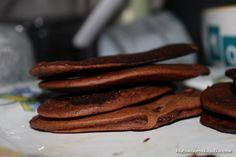 Kakaové (mini)palačinky z arašídového másla