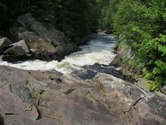 WATER WONDER Thundering sounds greet hikers  on New Hampshire's newly built Falls in the River Trail.