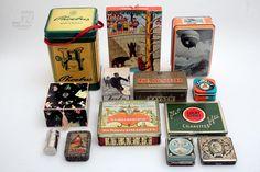 Blechdosen + Kartonverpackung Sammlung - cyan74.com vintage and pop culture