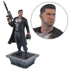 BLOG DOS BRINQUEDOS: Marvel Gallery Netflix Punisher Statue