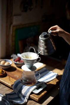 Good morning everyone, have your coffee slowly ......just like life take things slow enjoy the process. The Smell, the sight, the taste...