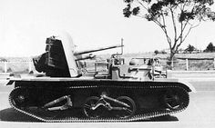 Universal Carrier - An Australian 2 pounder anti-tank gun carrier (AWM 134672)