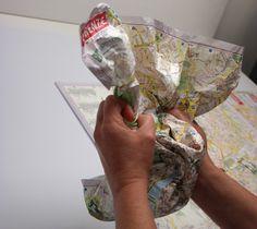 crumpled maps, design, maps, LAC, Florence, litografia, artistica, cartografica