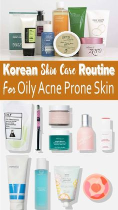Korean Skin Care Routine For Acne And Oily Skin Susan Cosmetics & Travel Tips SusanBBroylescosmetics Acne Scars Korean Skin Care Routine For Acne And Oily Skin – Determing the best skin care products for your skin type can be tricky – especially if y Dry Sensitive Skin, Oily Skin Care, Acne Prone Skin, Dry Skin, Best Korean Moisturizer, Korean Beauty Routine, Beauty Routines, Lotion, Korean Skincare