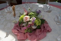 Gilded Petals whimsical centerpiece
