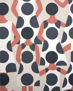 Us pattern, by Geoff McFetridge