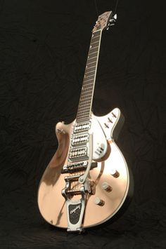Jack White's Gretsch Triple Jet. If only we were friends, maybe Jack White would let me hold this!!