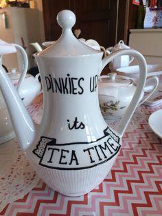 Pinkies up it s teatime