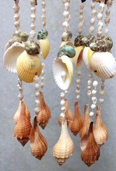 sea shell mobile