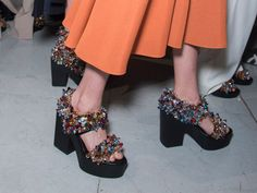 From kinky boots to light-up sandals, FN highlights the best shoes from Paris Fashion Week.