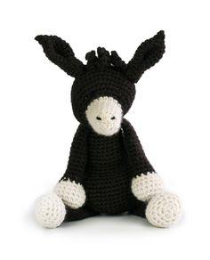 Toft Angharad the Donkey amigurumi crochet kit