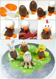 easter chick - tutorial