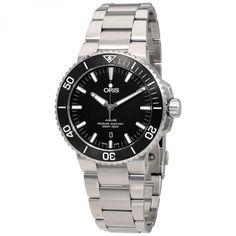 Oris Aquis Black Dial Automatic Men's Watch 01 733 7730 4154-07 8 24 05PEB