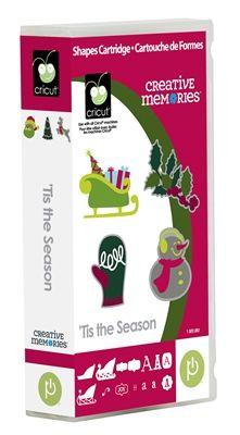 Tis the Season - Creative Memories now has seven exclusive cartridges for your Cricut!  #scrapbooking  http://main.cricut.com/shopping/detail--Creative-Memories-Tis-the-Season-Cricut-Cartridge-0-1497.aspx  $55