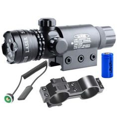 For 9-23mm Pipe Tactical Laser Aluminum Green Red Dot Laser Sight Scope for Hunting Rifles Handgun -P4042