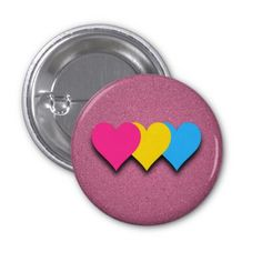 Shop LGBT pride hearts black button created by PinkBrickRoad. Pansexual Pride, How To Make Buttons, Custom Buttons, Black Button, Transgender, Lgbt, Flag, Pink, Pinback Buttons
