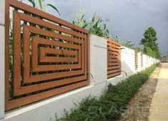 4 Natural Cool Tricks: Front Yard Fence Home Depot Backyard Fence Gate Design.Backyard Fence Gate Design Fencing Ideas For Homes. Fence Landscaping, Backyard Fences, Garden Fencing, Pool Fence, Pool Backyard, Backyard Privacy, Landscaping Design, Modern Fence Design, Living Fence