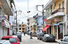 Straße in Kato Achaia
