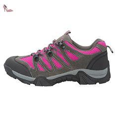 Mountain Warehouse Chaussures de Marche Cannonball Enfants Semelle ext/érieure Durable Support /à la Cheville-pour Les Voyages Confortables Toutes Saisons Le Camping