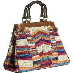 Bag -- crochet I think!