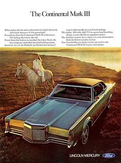 1970 Lincoln Continental Mark III Ad