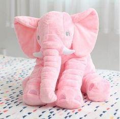 Giant Elephant Baby Pillow