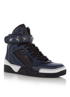 Bleu Chaussures Givenchy Pour Hommes qRN5Qg