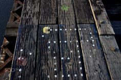 Pacman - Pac Man game graffiti painted on abandoned railroad bridge. Railroad Bridge, Graffiti Painting, Man Games, Urban Art, Abandoned, Street Art, Pac Man, Left Out, City Art