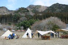 """栃木県鹿沼市で、新たなアクティビティの1つ""""里山グランピング""""を体験できる、〈KANUMA GLAMPING モニターイベント〉が2016年2月27日から28日にかけて開催。〈FLAVOR GLAMPING〉プログラムを先行で体験することができます。…"""