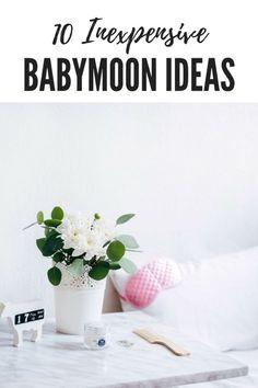 cheap babymoon ideas stress free pregnancy pinterest