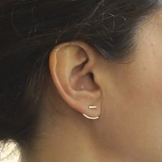 Circle, circle, dot, dot, now you have an extensive minimalist jewelry collection.