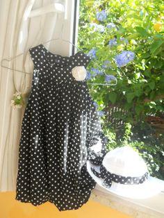 La tartaruga crea: Tutorial+cartamodello del vestito a pois!