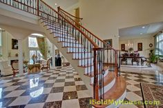 Surrounded by stone walls/stone entry sited on prestigious Coachman Ridge Rd. Grand Entrance 2-story foyer, bridal staircase, decorative ceiling dome illuminated by crystal chandelier.