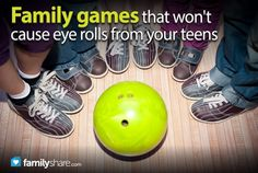 FamilyShares.com l Family games that won't cause eye rolls from your teens